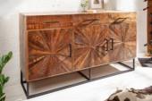 Sideboard Wood Art 160cm Mango/ 40525