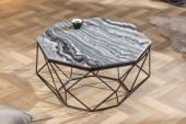 Couchtisch Diamond 70cm Marmor grau/ 40394