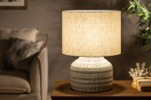 Tischleuchte Classic I 47cm Terracotta beige/ 40329