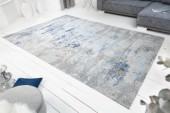 Teppich Abstrakt 350x240cm grau blau/ 40523