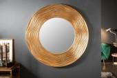 Wandspiegel Circle 100cm rund gold/ 40697