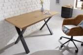 Schreibtisch Loft 140cm Eichenoptik/ 40872