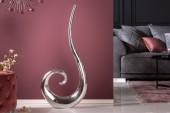 Vase Wave 105cm silber/ 8842