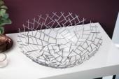 Obstschale Structure silber/ 19008