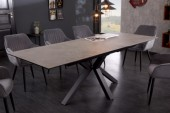 Esstisch Eternity 180-225cm Keramik Beton-Optik/ 41091