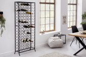 Weinregal Storage 180cm Metall schwarz/ 40862