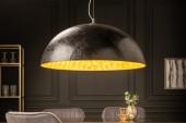 Hängeleuchte Glow schwarz gold 70cm/ 10719