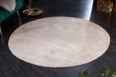 Teppich Modern Art 150cm rund beige/ 41259