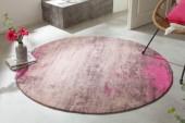 Teppich Modern Art 150cm rund beige pink/ 41261