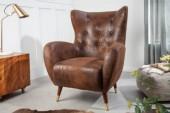 Sessel Don antik braun/ 40982