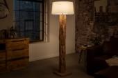 Schirm Stehlampe Roots natur konisch/ 41093