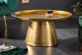Couchtisch Orient 65cm gold/ 40921