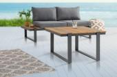 Garten-Beistelltisch Tampa Lounge 80cm Polywood natur/ 40935