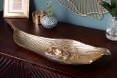 Schale Leaf 64cm gold/ 40915