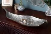 Schale Leaf 64cm silber/ 41270